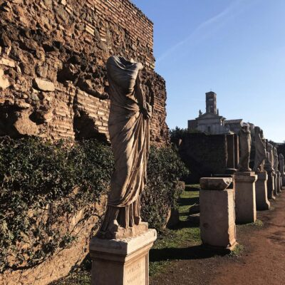 roman forum palatine hill colosseum