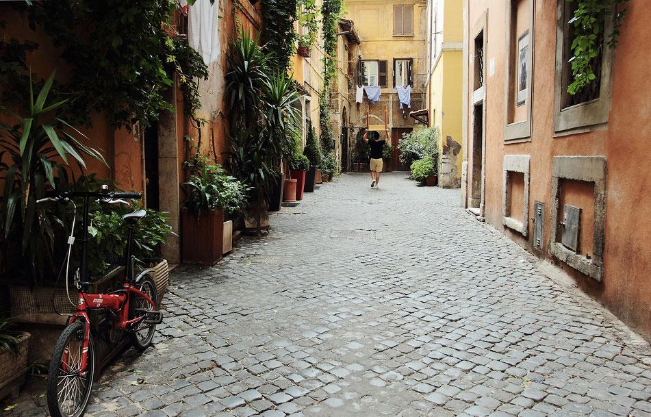 walking tour trastevere
