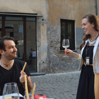 wine and food tour rome monti