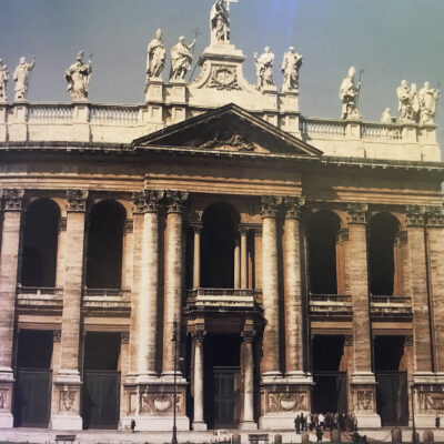 Not many people know that… Saint John in Lateran