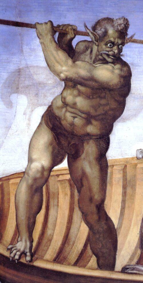 Charon: the ferryman of the underworld