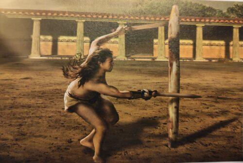 gladiators' training