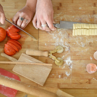 Virtual or Live Italian cooking class with Den and Rob